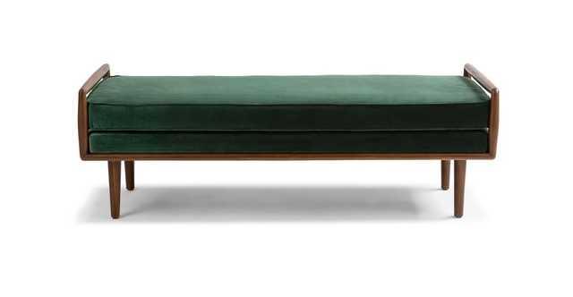 Ansa Balsam Green Bench - Article