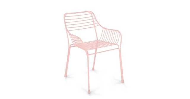 Caya Verbena Pink Dining Armchair- set of 2 - Article