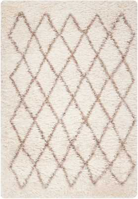"Yara Rug, 7'10""x10', Cream - Roam Common"