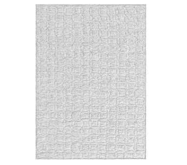 Organic Space Dyed Jersey Quilt, Gray - Pottery Barn Kids