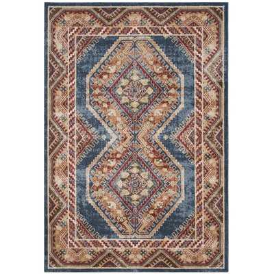Isanotski Red/Blue Area Rug - Wayfair