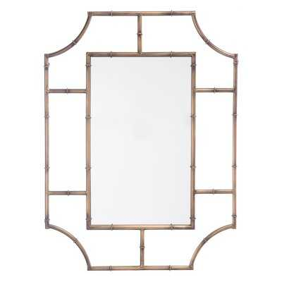 St. Johns Round Corners Accent Mirror - Wayfair