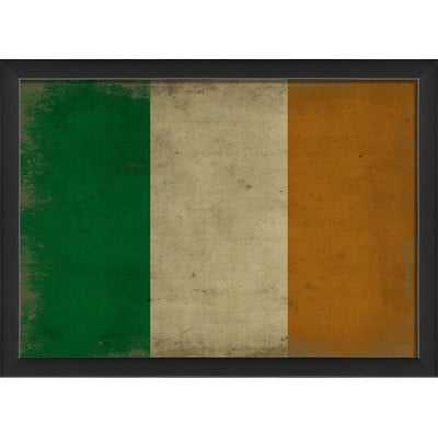 Irish Flag III Framed Graphic Art Print - Wayfair