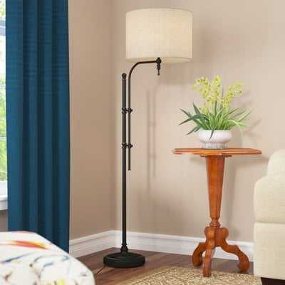 "Eunice 65"" Arched Floor Lamp - Birch Lane"