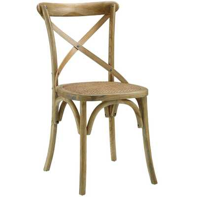 Gear Natural Dining Side Chair - Home Depot