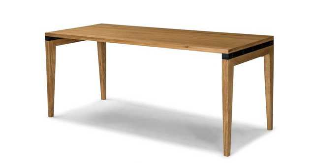 "Madera Oak 71"" Desk - Article"