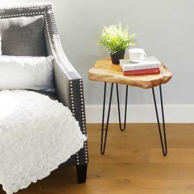Cedar Wood End Table - Wayfair