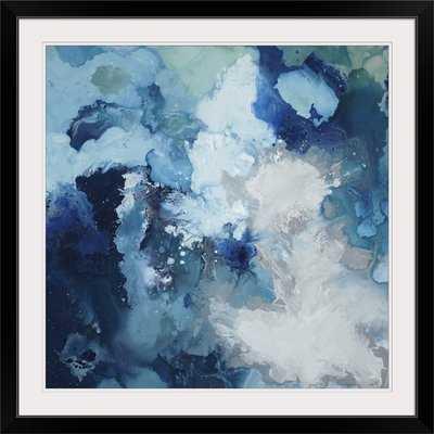 'Blu Flo' by Randy Hibberd Painting Print - AllModern