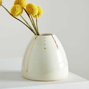 Honeycomb Studio Beehive Vase - West Elm