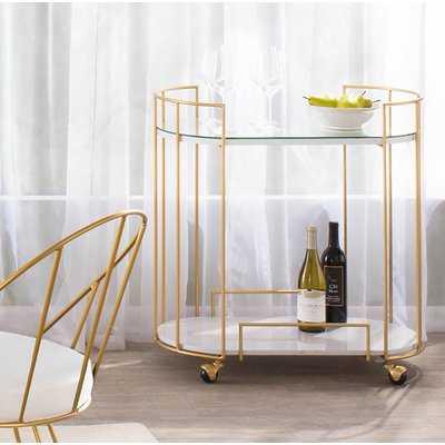 Lystra Bar Cart - AllModern