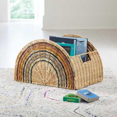 Rainbow Semi Circle Basket - Crate and Barrel