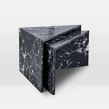 Nesting Marble Side Table, Set of 2 - West Elm