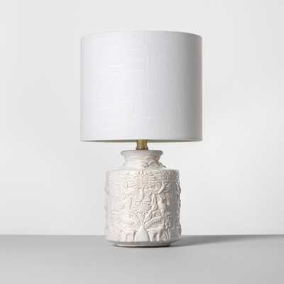Ceramic Table Lamp White (Lamp Only) - Opalhouse - Target