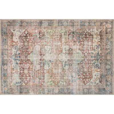 Onderdonk Brick Area Rug - Wayfair