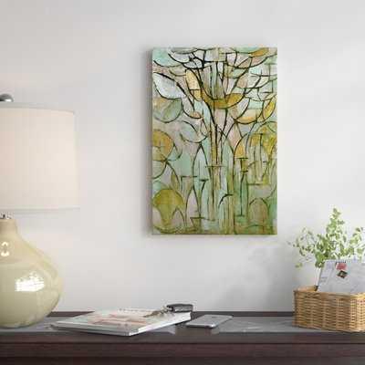 'Tree, 1912' by Piet Mondrian Print - AllModern