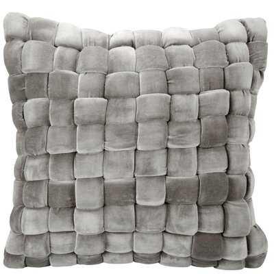 Pulver Pillow Charcoal - Wayfair