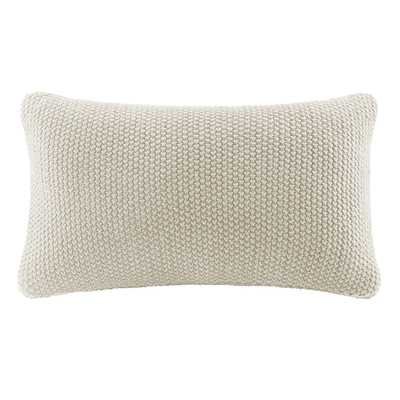 Elliott Knit Lumbar Pillow Cover - Wayfair