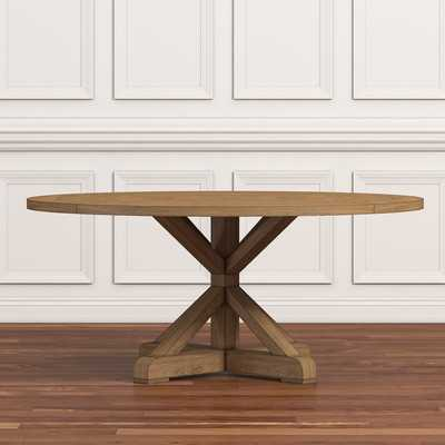 Peralta Round Rustic Dining Table - Wayfair