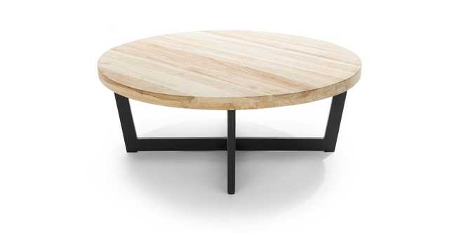Toba Natural Teak Coffee Table - Article