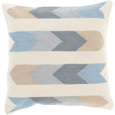 Cotton Kilim - Pillow Shell with Down Insert - Neva Home