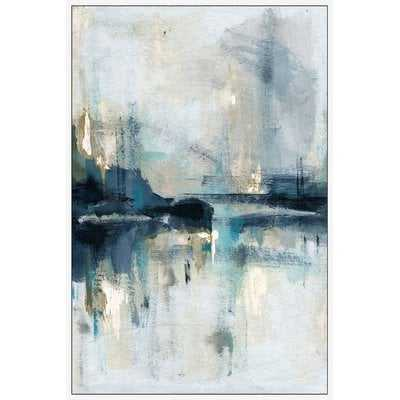 """'Senne Flueve' Framed Acrylic Painting Print on Canvas, 45"""" H x 30"""" W x 1.5"""" D - Wayfair"""