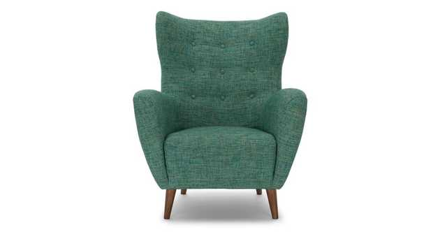 Mod Spearmint Aqua Armchair - Article