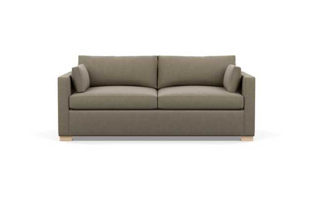 Charly Sofa with Desert Fabric and Natural Oak legs - Interior Define