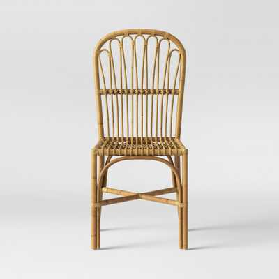 Cuprina Rattan Dining Chair Light Brown - Opalhouse - Target