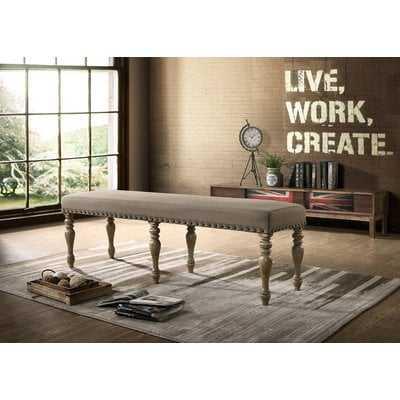 Dasher Upholstered Bench - Wayfair