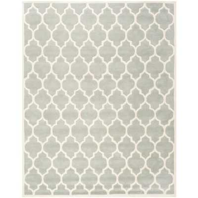 Chatham Grey/Ivory 10 ft. x 14 ft. Area Rug, Gray/Ivory - Home Depot
