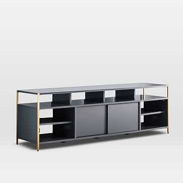 "Zane Media Console (68""), Gray - West Elm"