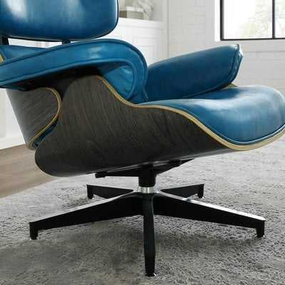 Omari Swivel Lounge Chair and Ottoman - Wayfair