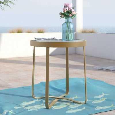 Mirabelle Glass Side Table - AllModern