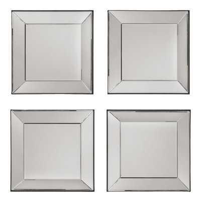 Erelina Decorative Square Wall Mirror - Birch Lane