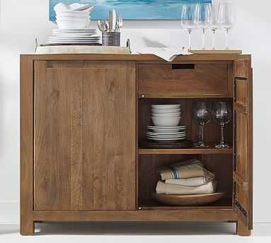 West Parsons Buffet, Tawny - Pottery Barn