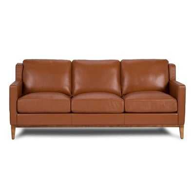 Cornish Genuine Leather Sofa - AllModern