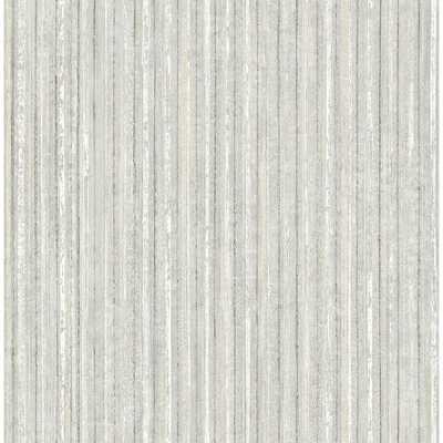 56.4 sq. ft. Maison Ivory Maison Texture Wallpaper, Light Grey - Home Depot