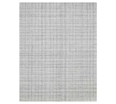 Aya Tufted Rug, 8.6 x 11.6, Gray - Pottery Barn