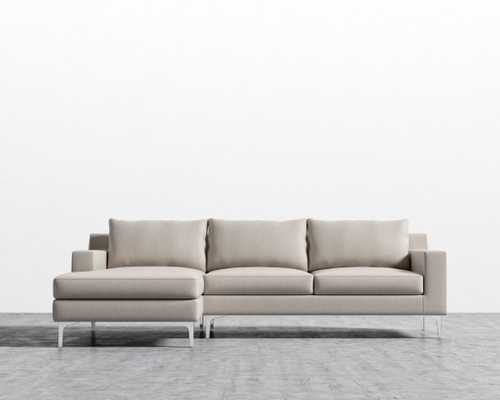 Sophia Sectional - Sand Right-hand-facing Matte Black - Sophia - Rove Concepts