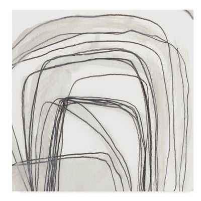 'Abstract Logic III' Acrylic Painting Print on Wrapped Canvas - Wayfair