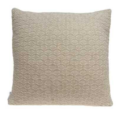 "20"" X 0.5"" X 20"" Charming Transitional Tan Pillow Cover - Wayfair"