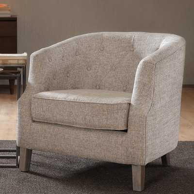 Catalpa Chesterfield Barrel Chair - Wayfair