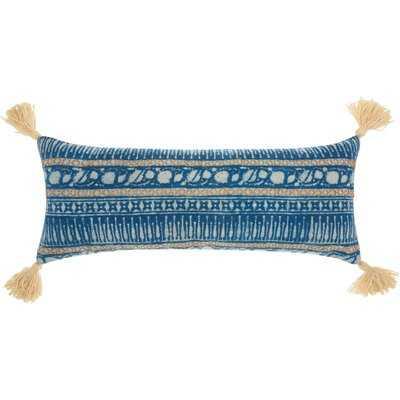 Adali Modern Cotton Lumbar Pillow - AllModern
