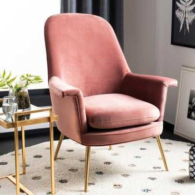 Georges Velvet Armchair - Wayfair