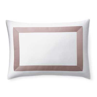 Montecarlo Italian Bedding, Sham, King, Blush - Williams Sonoma