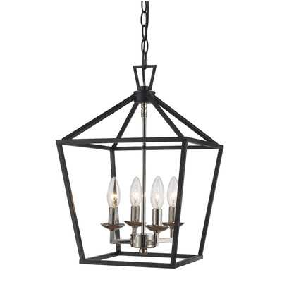 Carmen 4-Light Lantern Pendant - Birch Lane