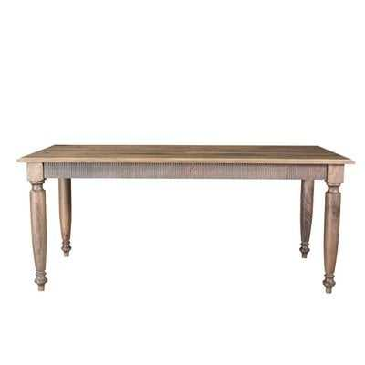 Solid Wood Dining Table - Wayfair