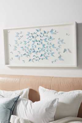 Ombre Butterflies Wall Art - Anthropologie