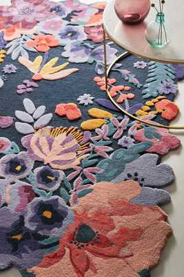 Tufted Jardin Rug - Anthropologie