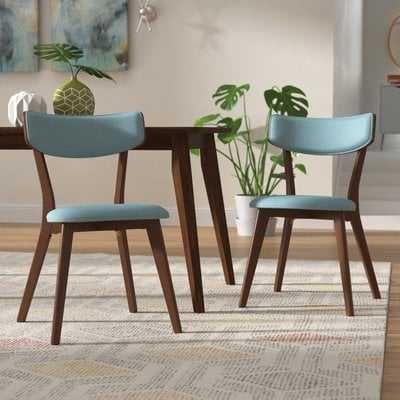 Putnam Upholstered Wood Dining Chair - Wayfair